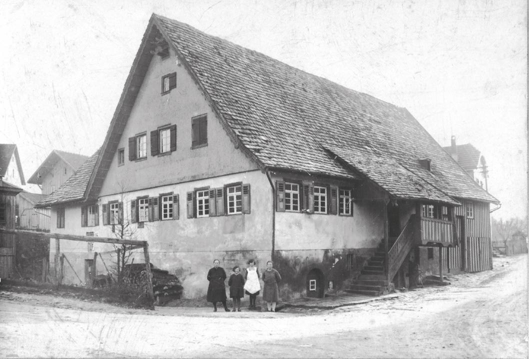 Die Alte Krone um das Jahr 1900 (Quelle: Jürgen Morlok l Baiersbronner Zeitreise)