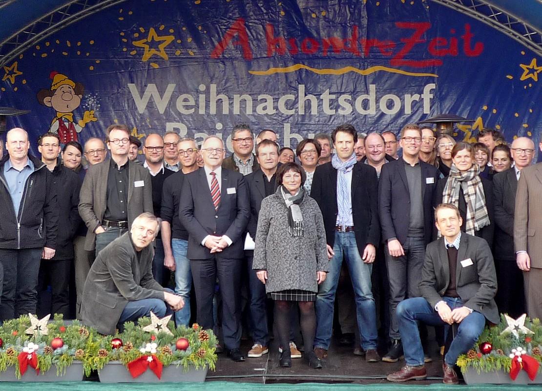 Planer, Gutachter und Betreuer im Finale: Pünktlich zu Weihnachten 2015 ging die Ideenkonkurrenz erfolgreich zu Ende.